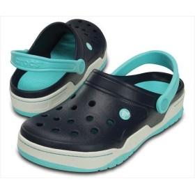 [crocs]クロックス フロント コート クロッグ (14300)(4DE) ネイビー/プール[取寄商品]