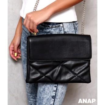 【セール開催中】ANAP(アナップ)チェーンキルティングショルダーバッグ