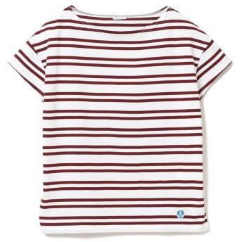 ビームス ウィメン ORCIVAL / ボーダー Tシャツ レディース 2ST/WHITE/MAROON(EC) ONESIZE 【BEAMS WOMEN】
