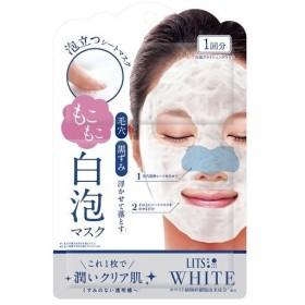 リッツ ホワイト もこもこ 白泡ブライトニングマスク ( 1枚入 )/ リッツ(化粧品)