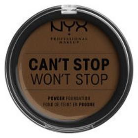 NYX Professional Makeup(ニックス) キャントストップ ウォントストップ フルカバレッジ パウダー ファンデーション 22.3ウォルナッツ