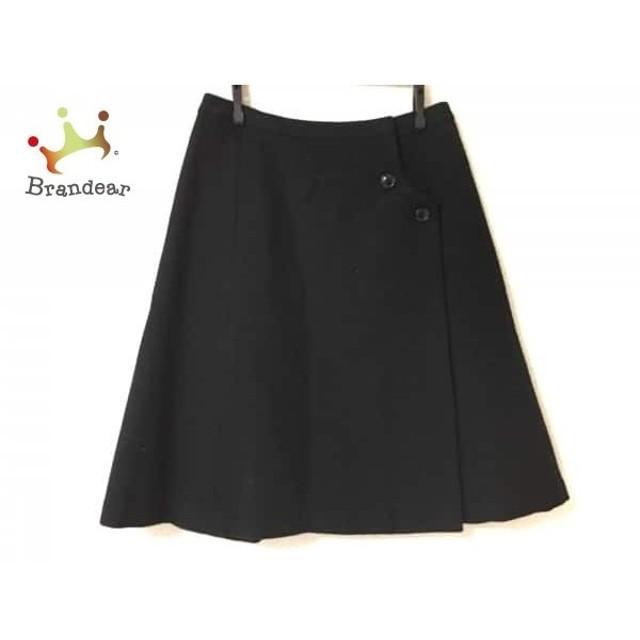 ヨークランド YORKLAND 巻きスカート サイズ9 M レディース 美品 黒    値下げ 20191006