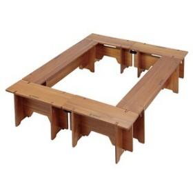 キャプテンスタッグ アウトドアテーブル CSクラシックス F&Gテーブルセット6p