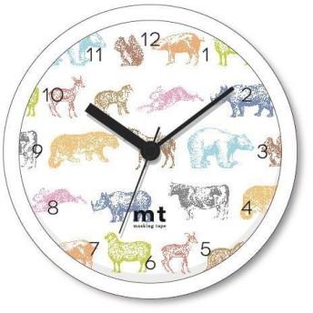 【ロフト限定】オリジナルクロック(掛置兼用) animals mt×LOFT