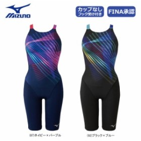 MIZUNO ミズノ スイムウェア 競泳用 ハーフスーツ オープン N2MG9245【2019年春夏モデル】