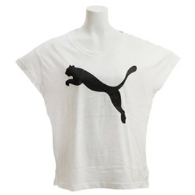 【Super Sports XEBIO & mall店:トップス】ACTIVE ロゴ 半袖 Tシャツ 843991 02 WHT