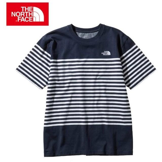 f6d4db579ff72 ノースフェイス Tシャツ 半袖 メンズ S/S Panel Border Tee ショートスリーブパネルボーダー
