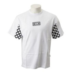 【ABC-MART:トップス】CD19SS-MT26 Checker Sleeve S/S T-Shirts WHITE 591154-0001