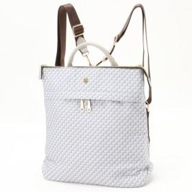 バッグ カバン 鞄 レディース リュック A4対応♪1本手2WAYリュックサック カラー 「グレー」