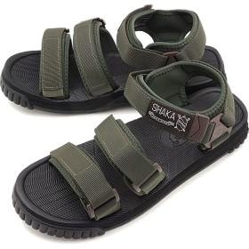 シャカ SHAKA ネオ バンジー NEO BUNGY メンズ レディース ストラップ アウトドアサンダル 靴 O.D/DBRN/BLK カーキ系  SK433104 SS19