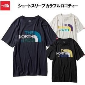 ノースフェイス メンズ Tシャツ ショートスリーブ カラフルロゴティー 男性用 半袖 NT31931 ネコポスOD 登山 トレッキング キャンプ THE NORTH FACE