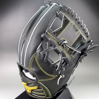 BSSショップ限定 ミズノ 一般軟式内野手用 右投げ ミズノプロ フィンガーコアテクノロジー 坂本モデル 1AJGR20213 (09)ブラック