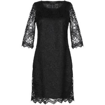 《セール開催中》MARIELLA ROSATI レディース ミニワンピース&ドレス ブラック 40 ポリエステル 100%