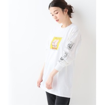 JOURNAL STANDARD relume 【LABRAT/ラブラット】Butt coupon L/S Tee:Tシャツ ホワイト XL