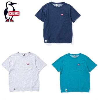 チャムス CHUMS Tシャツ 半袖 メンズ Keystone Pocket Crew Top キーストーンポケットクルートップ CH00-1198