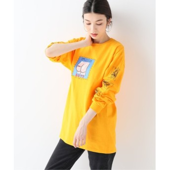 JOURNAL STANDARD relume 【LABRAT/ラブラット】Butt coupon L/S Tee:Tシャツ イエロー XL