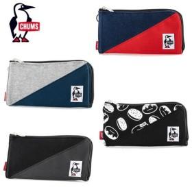 チャムス CHUMS 財布 メンズ レディース Zipper Long Wallet Sweat Nylon ジッパーロングウォレットスウェットナイロン ウォレット CH60-2687