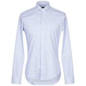 《セール開催中》BRIAN DALES メンズ シャツ スカイブルー 38 コットン 80% / ナイロン 15% / ポリウレタン 5%