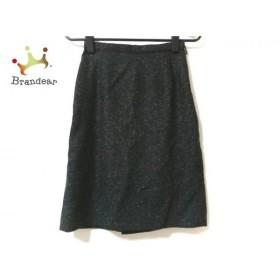ジャスグリッティー スカート サイズ0 XS レディース 美品 黒×白×ダークグレー ツイード     スペシャル特価 20191029