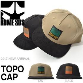 キャップ ROME SDS ローム TOPO CAP 帽子 ジェット キャップ スノーボード スノボ スキー 2017-2018冬新作 17-18 得割20