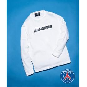 [マルイ] メンズTシャツ(Paris Saint-Germain TOKYO / パリサンジェルマン OVERLAID LOGO L/S)/エディフィス(EDIFICE)
