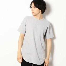 [マルイ] ワッフル ロング Tシャツ/パープル&イエロー(Purple & Yellow)