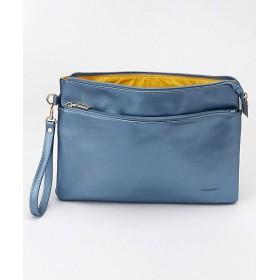 <Vittorio Godi/ヴィットリオ・ゴーディ> 20色カラークラッチバッグ(19030012) M.BLUE【三越・伊勢丹/公式】