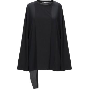 《セール開催中》STELLA McCARTNEY レディース T シャツ ブラック 36 コットン 100% / シルク
