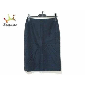 アニエスベー agnes b スカート サイズ36 S レディース ダークネイビー スペシャル特価 20190620【人気】