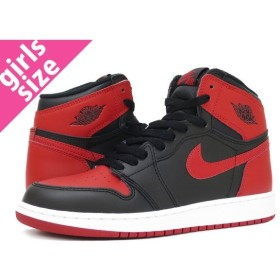 NIKE AIR JORDAN 1 RETRO HIGH OG GS 【BRED】 ナイキ エア ジョーダン 1 レトロ ハイ OG GS BLACK/VARSITY RED/WHITE