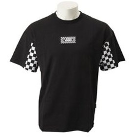 【ABC-MART:トップス】CD19SS-MT26 Checker Sleeve S/S T-Shirts BLACK 591154-0002
