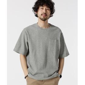 [マルイ]【セール】【19SS】二重編みジャガードBIG Tシャツ/ナノ・ユニバース(メンズ)(nano universe)