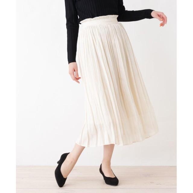 grove(グローブ) シャイニーランダムプリーツスカート