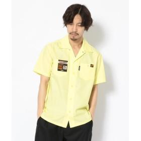 ショット T/C WORK SHIRT/TC 半袖 ワークシャツ メンズ LEMON XL 【Schott】