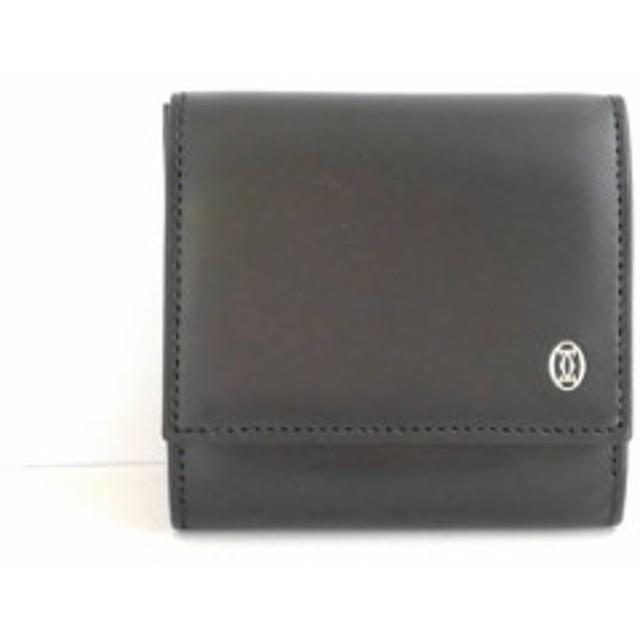 85b5e903520f カルティエ Cartier コインケース レディース パシャ 黒 レザー【中古 ...