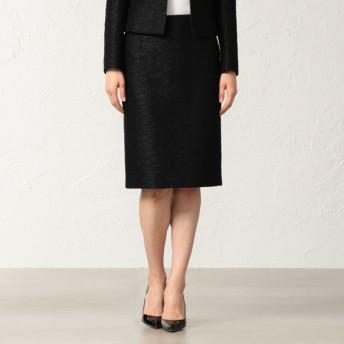 SALE【エポカ(EPOCA)】 【セットアップ】ギアテープグログラン スカート 黒