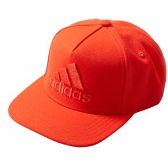adidas(アディダス) EBZ97 ロゴフラットキャップ スポーツキャップ 帽子