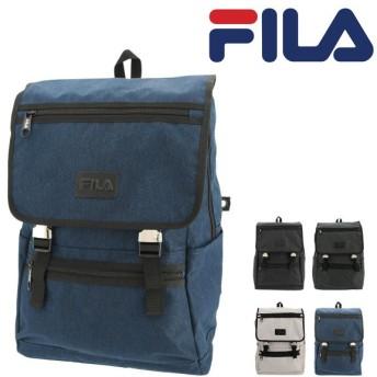 フィラ リュック 27L 大容量 プリモ メンズ レディースFILA-7534 FILA | リュックサック スクエア デイパック A4 通学 USB充電機能 [PO10]