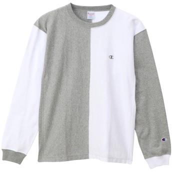 リバースウィーブ プルオーバーフードロングスリーブTシャツ 19SS リバースウィーブ チャンピオン(C3-P409)【5400円以上購入で送料無料】