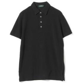 ZANONE / 別注 アイスピケ ポロシャツ メンズ ポロシャツ BLACK/Z0015 46