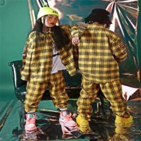 子供 ダンス 衣装 上下3点ヒップホップ  HIPHOP キッズダンス衣装 ステージ衣装 ジャズダンス ウエア 衣装 子供服 スポーツウェア