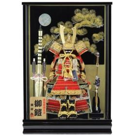 五月人形 鎧ケース飾り 鎧飾り ケース入り おしゃれ (392K91)(鎧ケース No.3) 数量限定