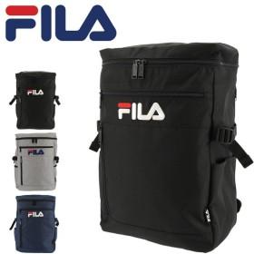 フィラ リュック 21L ラウンド メンズ レディースFILA-7555 FILA | リュックサック スクエア デイパック A4 通学 [PO10]