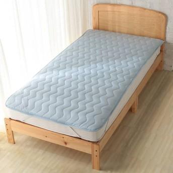 敷パッドひんやりクールブルー シングル ホームコーディコールド シングル 敷きパッド