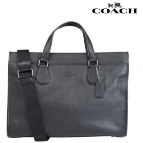 コーチ COACH メンズ バッグ ビジネスバッグ ブリーフケース F71614 ブラック