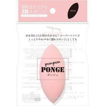 ポンジュ カラースポンジ 水あり・なし両用タイプ ピンク(12g)[パフ]