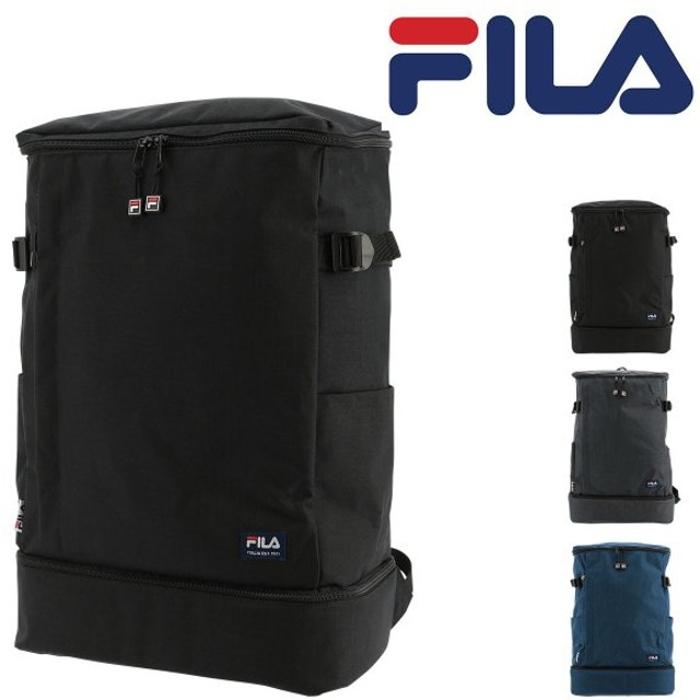 フィラ リュック 29L 大容量 プリモ メンズ レディースFILA-7528 FILA | リュックサック スクエア デイパック A4 通学 2層式 [PO10]
