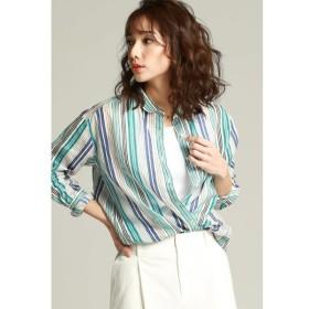 LAUTREAMONT / 【雑誌掲載】【ラミープリント】カシュクール2WAYシャツ