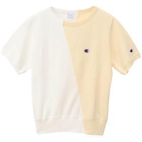 ウィメンズ ショートスリーブクルーネックスウェットシャツ 19SS チャンピオン(CW-P013)【5400円以上購入で送料無料】