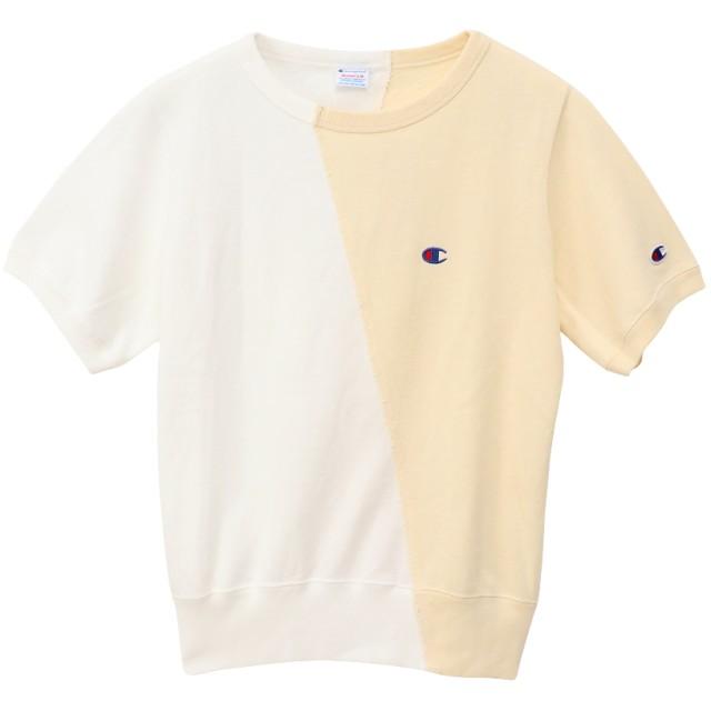 4918d9af7dd83f ウィメンズ ショートスリーブクルーネックスウェットシャツ 19SS チャンピオン(CW-P013)【5400. トップ レディースファッション トップス  Tシャツ・カットソー
